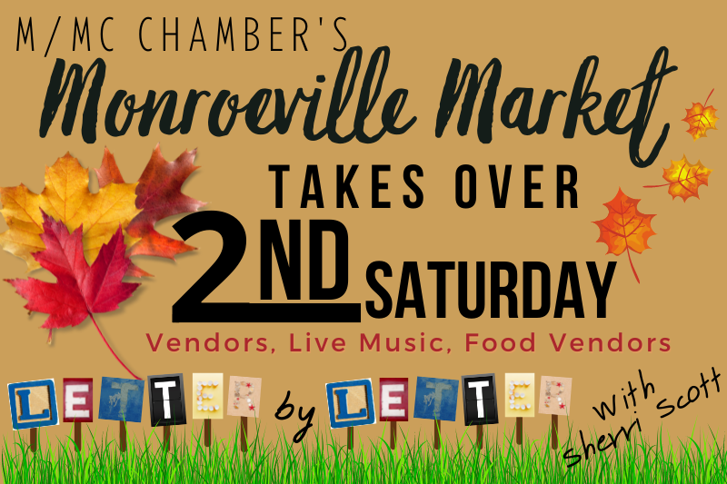 Event Image for 2nd Saturday -November - The Monroeville Market